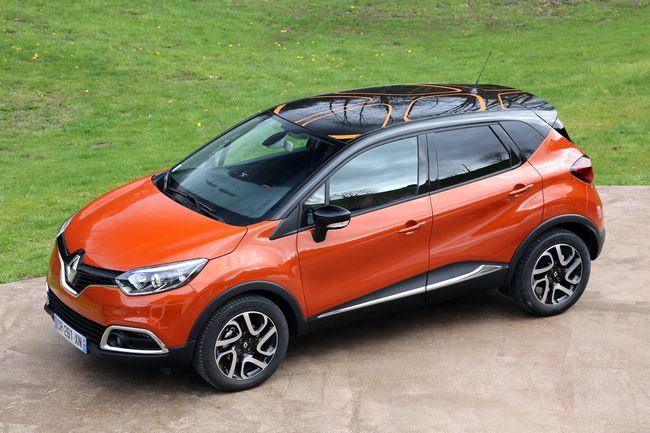 Nuova Renault Captur crossover