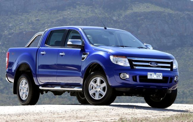 Nuovo Ford Ranger pickup 4x4