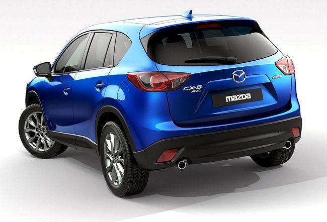 Nuova Mazda cx-5