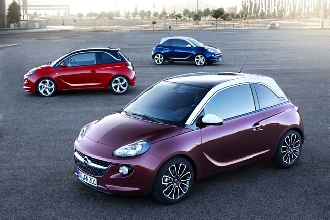 Nuova Opel Adam