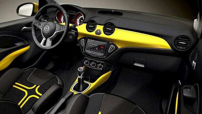 Interni nuova Opel Adam