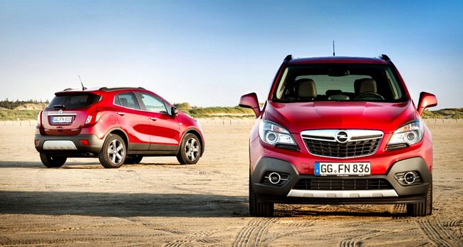 Opel Mokka, la crossover compatta