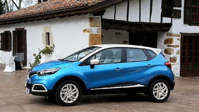 Nuova crossover Renault Captur