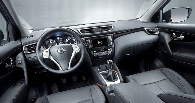 Interni nuova Nissan Qashqai 2014