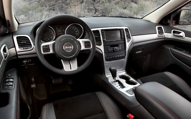 interni nuovo Jeep Grand Cherokee 2014