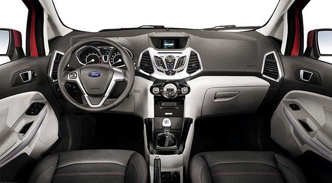 interni nuova Ford Ecosport