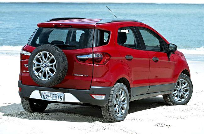 Nuovo Ford Ecosport, suv compatto