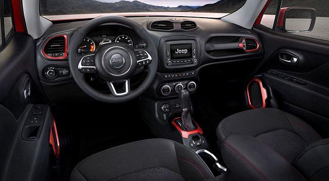 Interni Nuovo Jeep Renegade 2014