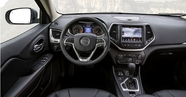 Interni nuova Jeep Cherokee