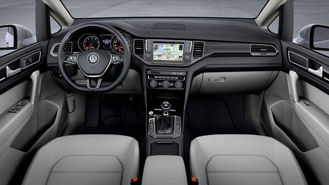 Interni nuova Volkswagen Golf Sportsvan