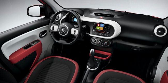 Interni nuova Renault Twingo