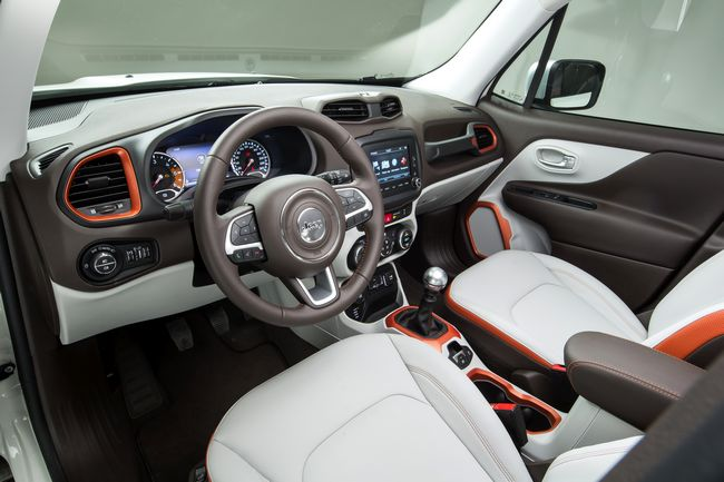interni jeep renegade