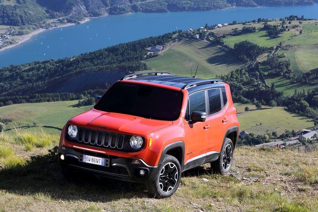 Nuovo Jeep Renegade 2015