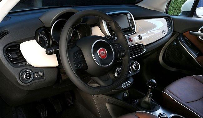 Interni nuova Fiat 500X