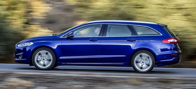 Nuova Ford Mondeo station wagon