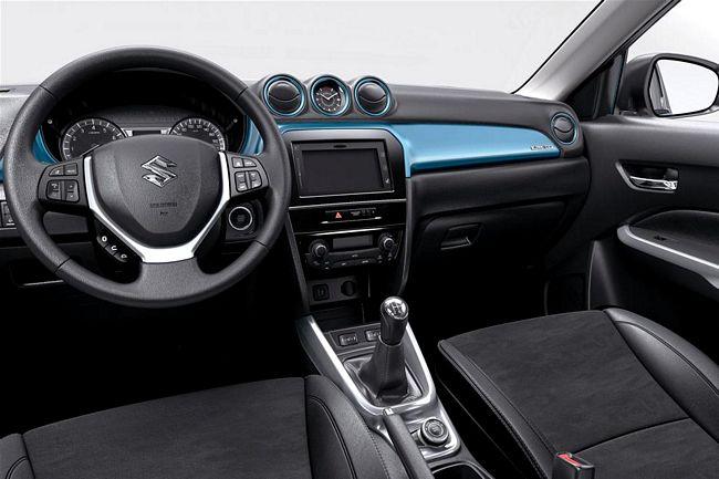 Interni della nuova Suzuki Vitara