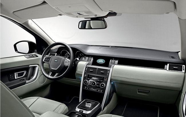 Interni del nuovo Land Rover Discovery Sport