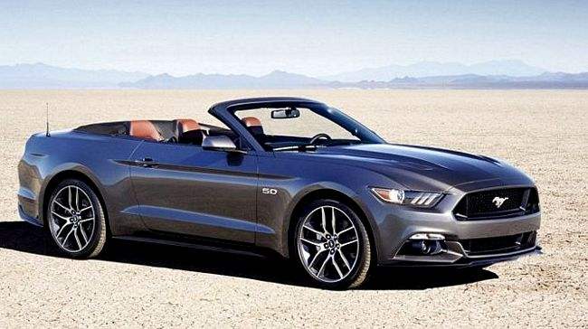 Nuova Ford Mustang convertibile
