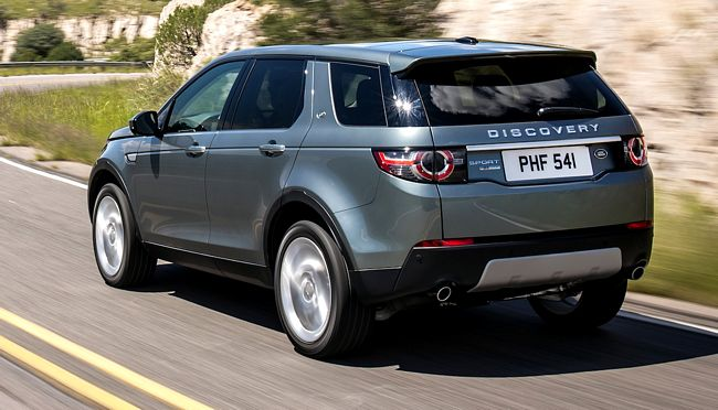 Nuovo Land Rover Discovery Sport
