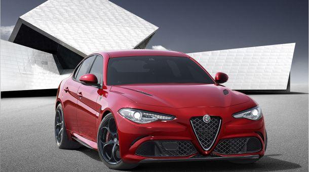 Nuova Alfa Romeo Giulia 2016