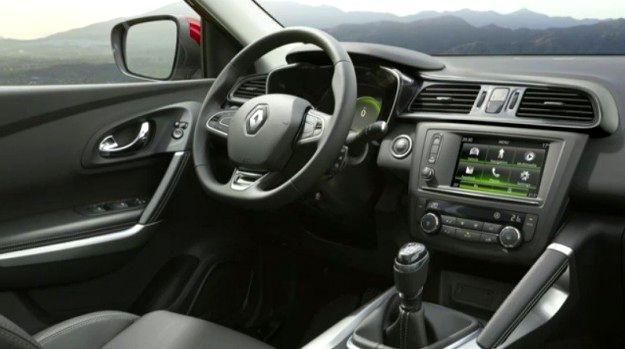 Interni Nuovo crossover Renault Kadjar