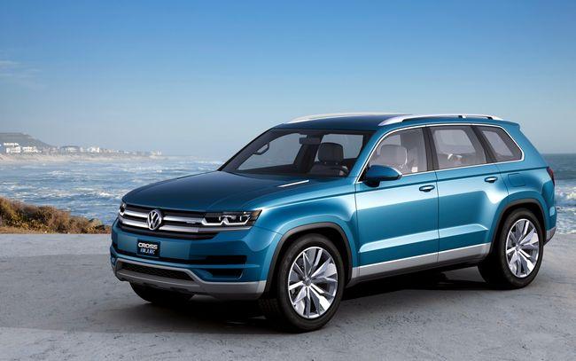 Nuovo suv Volkswagen a 7 posti