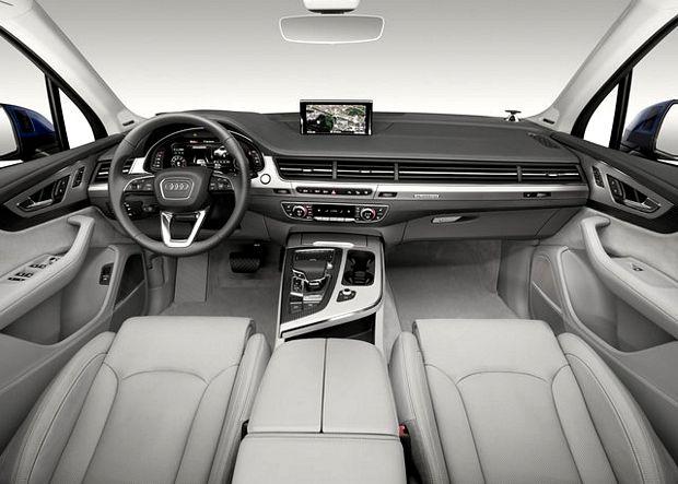 Interni Nuova Audi Q7