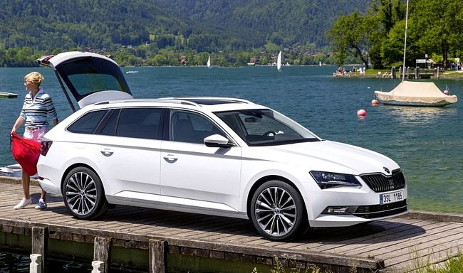 Nuova Skoda SuperB Wagon 2016