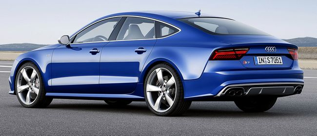 nuova Audi S7 sportback