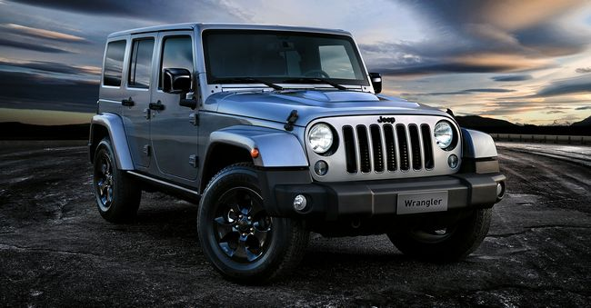 Nuova Jeep Wrangler Black Edition 2015