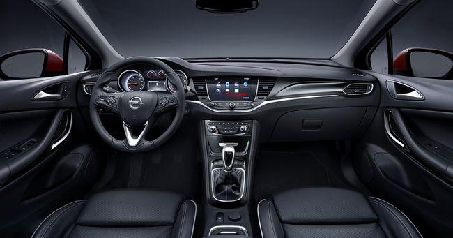 interni nuova Opel Astra 2016