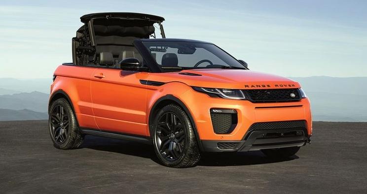 nuova Range Rover Evoque cabrio 2016