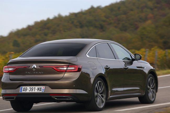 Nuova Renault Talisman berlina quattro porte