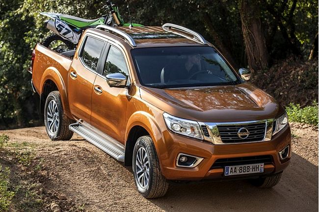 nuovo pick-up nissan navara 2016