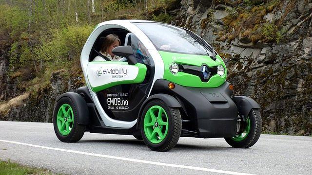 Auto elettrica Renault Twizy