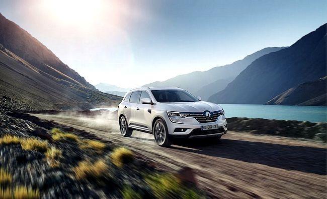 Nuovo Renault Koleos 2017
