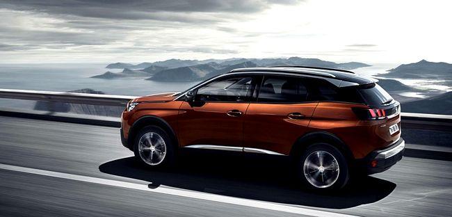 Nuovo suv compatto Peugeot 3008 2016