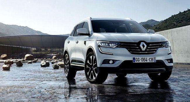 Nuovo suv Renault Koleos 2017