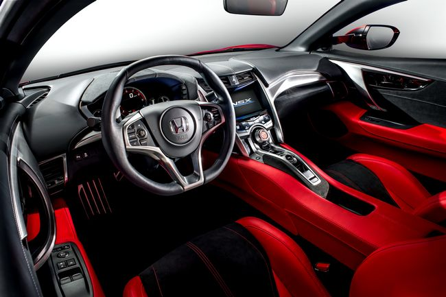 interni nuova Honda NSX