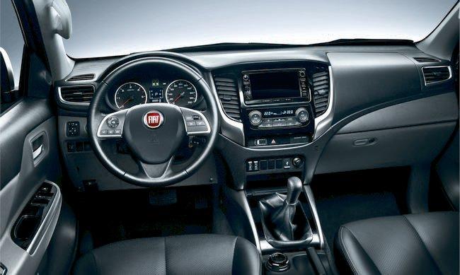 interni nuovo pickup Fiat Fullback