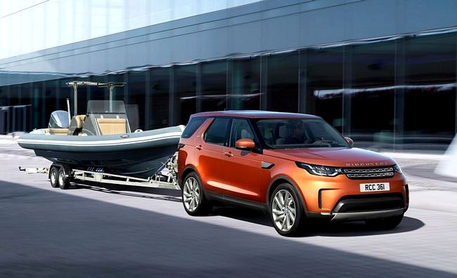 Nuovo suv Land Rover Discovery 2017