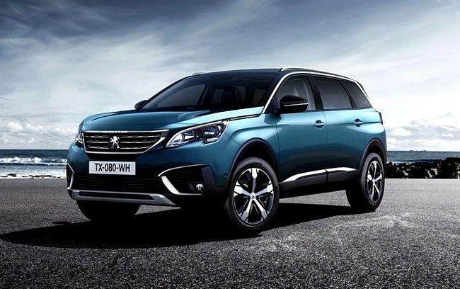 Nuovo suv Peugeot 5008 2017