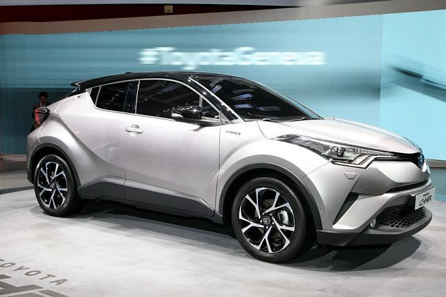 Nuovo crossover Toyota C-HR 2017