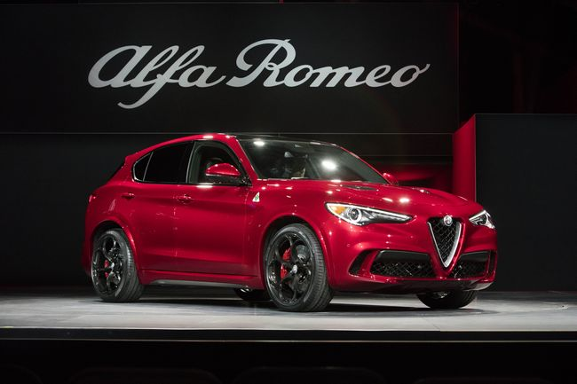 Nuovo suv Alfa Romeo Stelvio