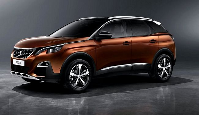 Nuovo crossover Peugeot 3008