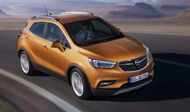 Nuova Opel Mokka X 2017