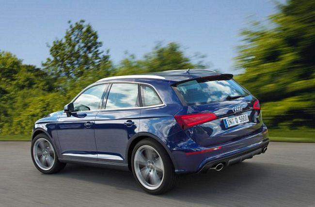 Nuovo Suv Audi Q5 2017
