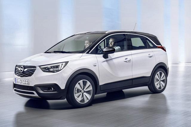 Nuova crossover Opel Crossland X 2017