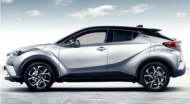 Nuovo crossover compatto Toyota C-HR 2017