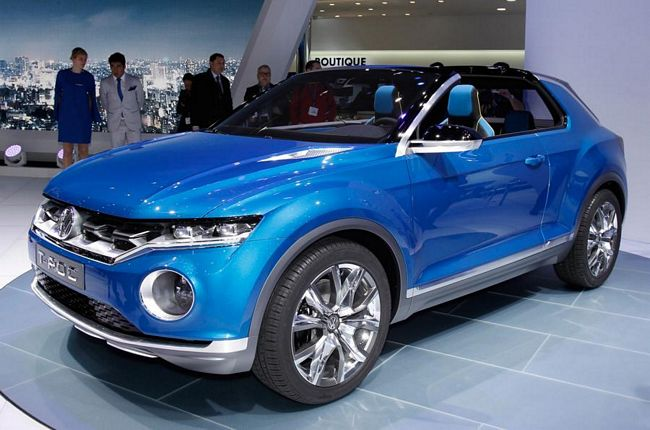 Volkswagen T-Roc, crossover  compatto su base Golf